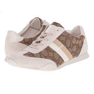 NEW COACH Kelson Outline Sneaker/Tennis Shoe 8.5M